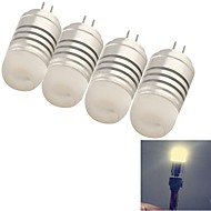 youoklight®  4PCS G4 4W 8*SMD3014 120LM Warm/Cool White Light Corn Bulbs (AC/DC12V)