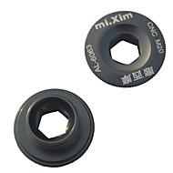 mixim 20ミリメートルアルミニウム合金チタンマウンテンバイククランクセットクランクカバーのネジ