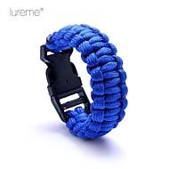 Survival Whistle / Survival Bracelet Survival Hiking Nylon Other - Lureme