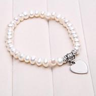 regalo personalizzato perle coltivate braccialetto