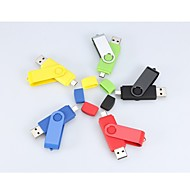 8Gb Roterende Usb Mikro Usb Otg Flash Pen-Drev