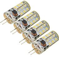 5W G4 LED Corn Lights 27 SMD 2835 300 lm Cool White Decorative DC 12 / AC 12 V 4 pcs