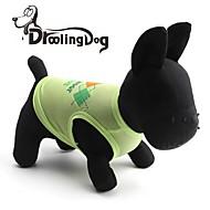 DroolingDog® Lovely Block Letters Pattern Terylene Vest for Dogs (Assorted  Sizes)