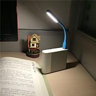 Mini USB portable souple conduit lampe de bureau pliable lumière créatrice pour la banque d'alimentation comupter projecteurs