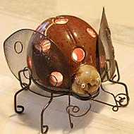 Irony Beetle Candle Holder