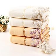 """telo da bagno, 2 colori del bordo del merletto 100% cotone filato torti asciugamano delle donne 55 """"* 29"""""""