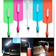 1.2W bærbar usb led lys fleksibel USB-drevet LED lampe for usb hardware (assortert farge)