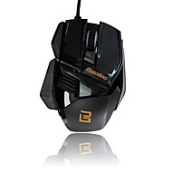 Ghost Axe X1 Wired Gaming Mouse 800/1000/2000 DPI 6 Buttons Optical USB