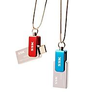 SSK sfd239 otg 32gb usb pen drive flash per PC smartphone impermeabile