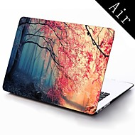 Pink Autumn Forest Design Full-Body Protective Plastic Case for 11-inch/13-inch New Mac Book Air