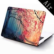 conception de forêt d'automne rose plein-corps boîtier en plastique de protection pour 11 pouces / 13 pouces nouvelle Mac Book Air