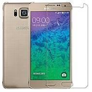 2.5D præmie hærdet glas skærm beskyttende film med til Samsung Galaxy alphaf g850f / g8508