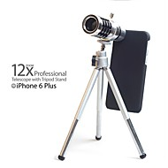 "5.5"" 12X Mobile Phone Telephoto Lens with Tripod for iPhone 6 Plus"