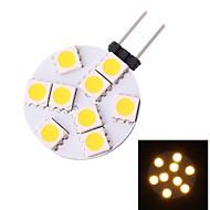Spot Lampen G4 1.5 W 80 LM 3000 K 9 SMD 5050 Warmes Weiß DC 12 V
