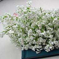 witte zijde babyadem boeket 6 stuks / veel voor bloemdessin en bruiloft decoratie