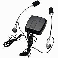 motorsykkel kablet interphone wi10 walkie talkie intercom for sjåføren rytter og passasjer som støtter mp3