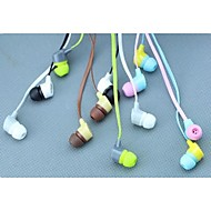 KEEKA Stylish 3.5mm Earphone with Microphone for iPhone 6 iPhone 6 Plus/5S/5/4S/4