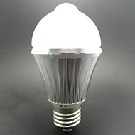 1 pcs E26/E27 5 W 10 SMD 5730 400LM LM Warm White/Cool White BR/BA/G Sensor Globe Bulbs/LED Smart Bulbs AC 85-265/AC 100-240 V