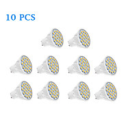 10 pcs GU10 5 W 20 SMD 5050 320 LM Warm White / Cool White Spot Lights AC 220-240 V