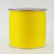500M / 550 Yards Żyłka polietylenowa pleciona / Dyneema Vlasce Żółty 100LB / 80 lb / 70 lb / 60 lb / 45 lb / 40 lb / 50 lb