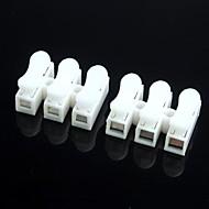 conectores de fio terminais rápidos (5pcs)