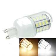 G9 7W 40x5630SMD 1600LM 3500K 6000K Warm White/Cool White Decorative Corn Bulbs  AC220-240V