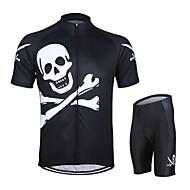 Arsuxeo Cykel/Cykelsport Arm Warmers / Cykeltröja + shorts / Klädesset/Kostymer Unisex Kort ärmAndningsfunktion / Snabb tork / Anatomisk
