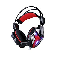 EACH G3100 Headphone Wired 3.5mm Over Ear Gaming Vibration Light with Microphone For PC