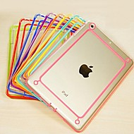 BIG D Colorful PC and TPU Transparent Bumper for iPad 2/3/4(Assorted Color)