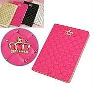 Apfel iPad mini/iPad mini 2/iPad mini 3 PU Leder , Schwarz/Gold/Silber/Rosa ) - Diamant Look