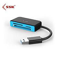 Kortinlukija Kaikki yhdessä - USB 3.0 - CompactFlash/SD/SDHC/SDXC/MicroSD/MicroSDHC/MicroSDXC/TF