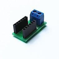 ledning kabel binde terminal modul for Arduino - blå + svart