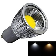 JIAWEN® GU10 5W 1XCOB 450LM 3000-3200K/6000-6500K Warm White/Cool White LED Spot Lights (AC 100-240V)