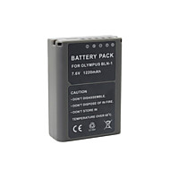 BLN-1 - Li-ion - Batteri - till for Olympus  OM-D E-P5 EP5 E-M5 EM5 - 7.4V - V - 1220mAh - mAh