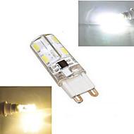1 pcs G9 9W 16X SMD 5730 384LM 2800-3500/6000-6500K Warm White/Cool White Corn Bulbs AC 220V