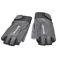 guantes de ciclismo fingerless boulder 306 al aire libre guantes de los deportes de medio dedo (negro)