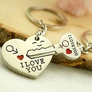 mariage romantique trousseau de clés pour le jour de valentine amant (une paire)