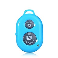 bluetooth disparador remoto inalámbrico cámara de control para iPhone, iPad, Samsung y otros teléfonos Android iOS