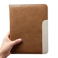 Ipad 5 Hot Selling Fashion Real Leather Ultra Thin Design Smart Stand Cover Case for Apple Ipad Air (Assorted Colors)