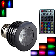 1pcs SchöneColors E27 2 Million Colors Dimmable/32Keys Remote-Controlled/Decorative RGB LED SpotLights AC 85-265 V