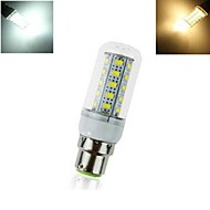 12W B22 LED a pannocchia T 36 SMD 5730 864 lm Bianco caldo / Luce fredda AC 220-240 V 1 pezzo