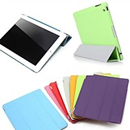 iPad mini 3/iPad mini/iPad mini 2 compatible Solid Color PU Leather Smart Covers/Origami Cases with Back Cases