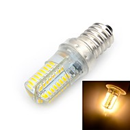 Marsing E14 6W LED Bulb Warm White Light 3000K 600lm SMD 3014 - White + Yellow (AC 220V)