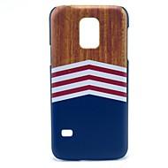 Για Samsung Galaxy Θήκη Με σχέδια tok Πίσω Κάλυμμα tok Νερά ξύλου PC Samsung S5 Mini