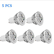 5 pcs Bestlighting GU10 6 W 5 X High Power LED 450 LM K Warm White/Cool White PAR Dimmable Spot Lights AC 110 V