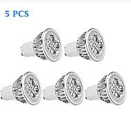 5 kpl Bestlighting GU10 6.0 W 5 Teho-LED 450 LM Lämmin valkoinen/Kylmä valkoinen PAR Himmennettävä Kohdevalaisimet AC 110-130 V