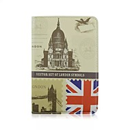 RetroStyle 360° Turnable Big Ben PU Leather Full Body Cases with Stand for iPad Air