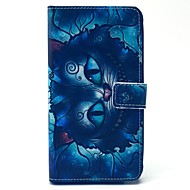 Para Samsung Galaxy Note Porta-Cartão / Carteira / Com Suporte / Flip Capinha Corpo Inteiro Capinha Desenho Couro PU SamsungNote 4 / Note