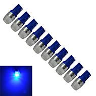 Jiawen® 10db t10 0,5w 50lm kék fényszóró gyártó lámpa vezetett autó fény (dc 12v)