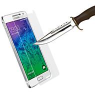 ultra-ohut anti-räjähdys naarmuuntumaton karkaistua lasia näytön suojus Samsung Galaxy alfa g850